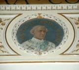 Galimberti S. sec. XX, Dipinto murale con cardinale Bernevetus