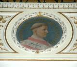 Galimberti S. sec. XX, Dipinto murale con cardinale Guido Pierleoni