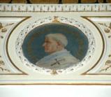 Galimberti S. sec. XX, Dipinto murale con cardinale Giacomo Pecoraria