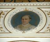 Galimberti S. sec. XX, Dipinto murale con cardinale Vicedomino