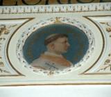 Galimberti S. sec. XX, Dipinto murale con cardinale Simon De Beaulieu