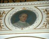 Galimberti S. sec. XX, Dipinto murale con cardinale Pietro Taillefer