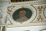 Galimberti S. sec. XX, Dipinto murale con cardinale Pietro Pratensis
