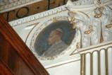 Galimberti S. sec. XX, Dipinto murale con cardinale Simon Langhau