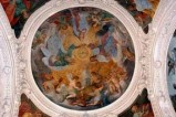 Attribuito Manenti V. (1612), Cristo e l'Eterno incoronano la Madonna