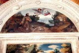 Bott. laziale (1612 circa), San Francesco riceve le regole dall'angelo