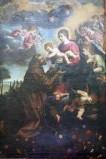Bott. laziale (1612 circa), Madonna con Gesù Bambino e San Francesco d'Assisi