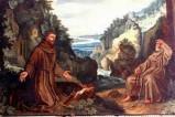 Bott. laziale (1612 circa), San Francesco riceve le stimmate