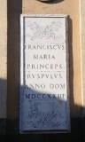 Marmoraio viterbese (1723), Lapide 2/2