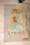 Lorenzo da Viterbo sec. XV, Dipinto murale con Madonna e Gesù Bambino