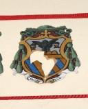 Ambito laziale sec. XX, Dipinto con stemma del vescovo Mornati