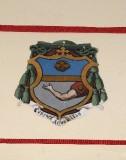 Ambito laziale sec. XX, Dipinto con stemma del vescovo Spalletti