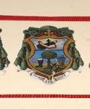 Ambito laziale sec. XX, Dipinto con stemma del vescovo Doebbing