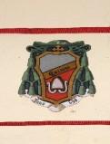 Ambito laziale sec. XX, Dipinto con stemma del vescovo Grazioso