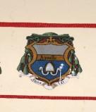 Ambito laziale sec. XX, Dipinto con stemma del vescovo Agnello II
