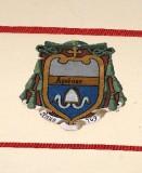 Ambito laziale sec. XX, Dipinto con stemma del vescovo Agatone