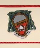 Ambito laziale sec. XX, Dipinto con stemma del vescovo Mainardo
