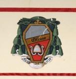 Ambito laziale sec. XX, Dipinto con stemma del vescovo Ottone