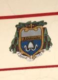 Ambito laziale sec. XX, Dipinto con stemma del vescovo Aldobrando