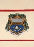 Ambito laziale sec. XX, Dipinto con stemma del vescovo Fra Tommaso