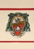 Ambito laziale sec. XX, Dipinto con stemma del vescovo Fra Ugoccione