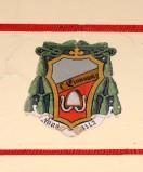 Ambito laziale sec. XX, Dipinto con stemma del vescovo Giovanni VI
