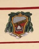 Ambito laziale sec. XX, Dipinto con stemma del vescovo Angelo