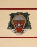 Ambito laziale sec. XX, Dipinto con stemma del vescovo Rossi De Tartaris