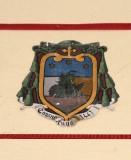 Ambito laziale sec. XX, Dipinto con stemma del vescovo Cordoni