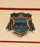 Ambito laziale sec. XX, Dipinto con stemma del vescovo Pontino