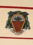 Ambito laziale sec. XX, Dipinto con stemma del vescovo Flores