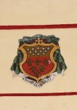 Ambito laziale sec. XX, Dipinto con stemma del vescovo Bargarotto