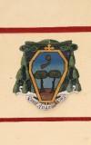 Ambito laziale sec. XX, Dipinto con stemma del vescovo De Albericis