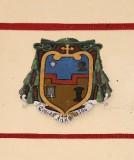 Ambito laziale sec. XX, Dipinto con stemma del vescovo Bruni
