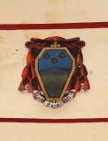 Ambito laziale sec. XX, Dipinto con stemma vescovile