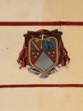 Ambito laziale sec. XX, Dipinto con stemma del vescovo Simonetta
