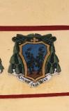 Ambito laziale sec. XX, Dipinto con stemma del vescovo Galerati