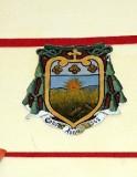 Ambito laziale sec. XX, Dipinto con stemma del vescovo Campeggio