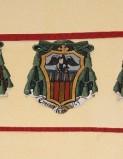 Ambito laziale sec. XX, Dipinto con stemma del vescovo Stampa