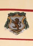 Ambito laziale sec. XX, Dipinto con stemma del vescovo Stradella