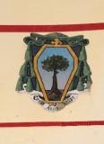 Ambito laziale sec. XX, Dipinto con stemma del vescovo Moroni