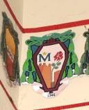 Ambito laziale sec. XX, Dipinto con stemma del vescovo Rosina