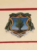 Ambito laziale sec. XX, Dipinto con stemma del vescovo Paoli