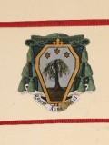 Ambito laziale sec. XX, Dipinto con stemma del vescovo Vannini