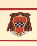 Ambito laziale sec. XX, Dipinto con stemma del vescovo Spinola