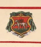 Ambito laziale sec. XX, Dipinto con stemma del vescovo Cianti