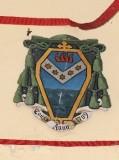 Ambito laziale sec. XX, Dipinto con stemma del vescovo Vecchiarelli
