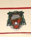 Ambito laziale sec. XX, Dipinto con stemma del vescovo Agnello