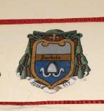 Ambito laziale sec. XX, Dipinto con stemma del vescovo Barboto