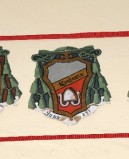 Ambito laziale sec. XX, Dipinto con stemma del vescovo Costanzo